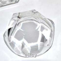 BACCARAT Coupelles anciennes en cristal Série de 6 coupes Service HARCOURT