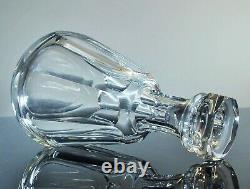 Baccarat Ancienne Carafe Whisky Cristal Massif Taille Talleyrand Baccarat Signe