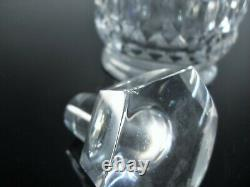 Baccarat Canterbury Ancienne Carafe Decanter Whisky Cristal Massif Signée