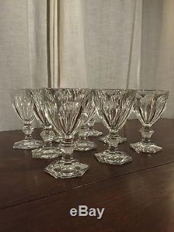 Baccarat cristal verres verre harcourt vin taill eau ancien 52 pi ces carafe - Verres baccarat anciens ...