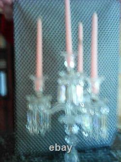Baccarat chandelier ancien