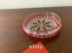 Bonbonnière ancienne en cristal de Baccarat