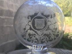 Bouteille carafe ancienne cristal de BACCARAT