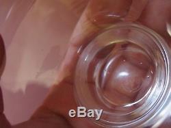 CRISTAL DE BACCARAT BOITE COFFRET DE 6 COUPE A GLACE ANCIENNE (lire l annonce)