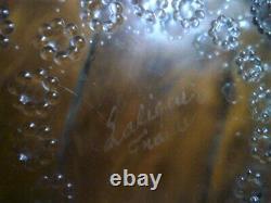 Coupe saladier signé Lalique ancien
