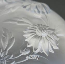 ETLING, très belle coupe à décor de fleurs, coupe ancienne, ETLING FRANCE 148