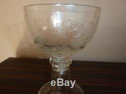 Emile gallé-cristallerie-verre ancien
