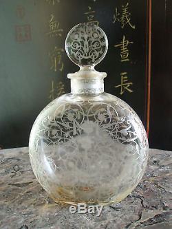Flacon cristal de Baccarat ancien