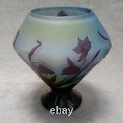 Gallé vase ancien french cameo glass
