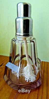 LAMPE BERGER, rare model, ancien CRISTAL Baccarat, st louis