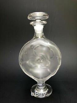 Lalique France Ancien Flacon De Parfum Moulin Rouge Signé Rare