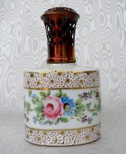 Lampe Berger Ancienne Paul Bocquillon Décor Floral et Dorures