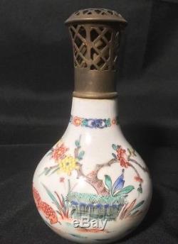 Lampe Berger Paris Ancienne A Decor Floral Et Oiseaux A835