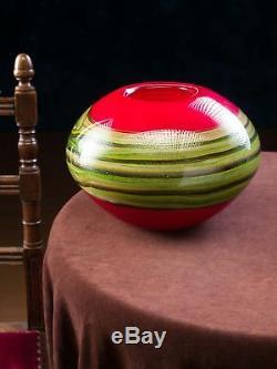 Lourd vase en verre style verre de Murano/style ancien 5kg