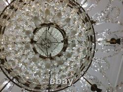 Lustre Ancien Baccarat h 105 cm