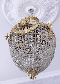 Lustre ancien plafonnier lustre en cristal lustre lampe à suspension