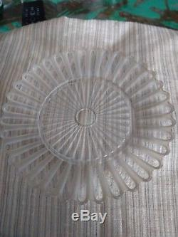 Mille Nuits Assiette Baccarat Cristal Diametre 19cm Ancienne Collection Signee