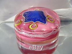 Rare Ancien SULFURE (XIXème) Cristal Bonbons COLSON Clichy VF621