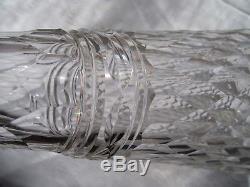 Rare Ancienne Grande Carafe A Vin Cristal Taille De Baccarat Juvisy