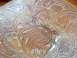 Rare Authentique ancienne Coupe verrerie de RENE LALIQUE PINSONS