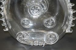 Rare Lampe Bouteille Cristal St Louis Louis XIII Cognac Remy Martin Pub Ancienne
