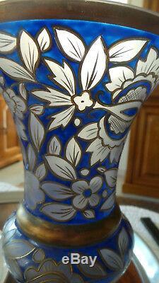 Rare Vase Boheme Ancien