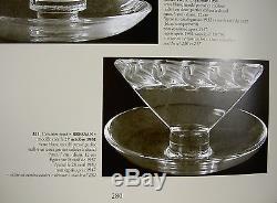 Rene Lalique Rare Baguier Bressan Ancien Coupelle No Vase Art Deco Verre 1931
