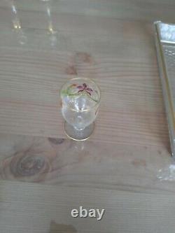 Service à liqueur ancien en cristal