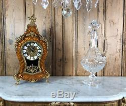 Superbe Grande Carafe À Vin Baccarat Ancienne En Cristal De 44 CM De Hauteur