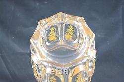 Superbe Verre Ancien En Cristal Charles X Decor De Vigne Baccarat Superbe Etat