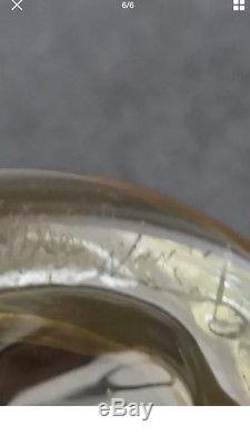 Superbe petit vase ancien Emile gallé NANCY
