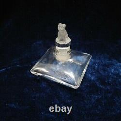 Toujours fidèle dOrsay flacon parfum ancien cristal vide