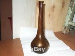 Très Ancienne Fiole Romaine, verre Antique très belle état