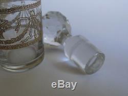 Un Ancien Service A Liqueur Cristal De Saint Louis Gold Napoleon III