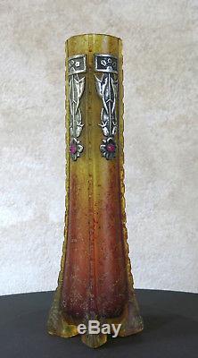 VASE ART NOUVEAU, Loetz, Lotz, Kralik, Austria, vase ancien art nouveau