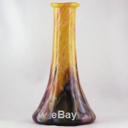 VASE Ancien JP. CINQUILLI, VERRERIE DE SAINT PAUL, biot/monod/novaro/glass 80