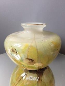 Vase Ancien En Verre Multicouche A Identifier Sublime Circa 1970 Biot