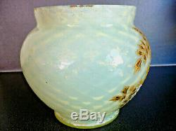 Vase Ancien Xixemes Siecle Emaille Opalescent Montjoye Legras