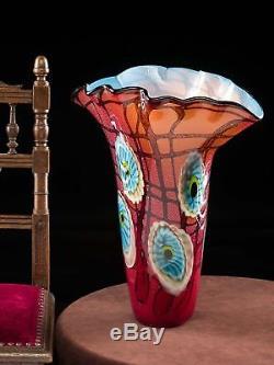 Vase en verre style verre de Murano/style ancien 6,2 kg
