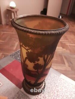 Vase gallé ancien TIP