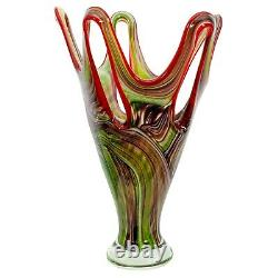 Vase style ancien style verre de Murano 40cm 5kg