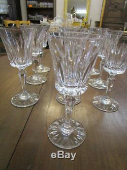 Verres À Vin Cristal De Sevres Verres Anciens Des Années 70